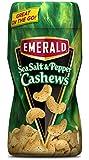 Emerald Cashews, Sea Salt and Pepper, 12 Count