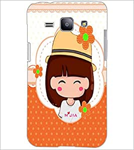 PrintDhaba Cartoon D-2978 Back Case Cover for SAMSUNG GALAXY J1 (Multi-Coloured)