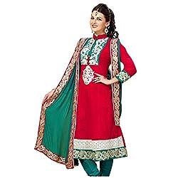 Cenizas embroidered Semi Stich Salwar Suit Duptta (2005)