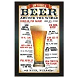 "Beer Movie Poster, 22.25"" x 34"""