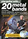 "20 Metal Bands: Including ""Black Sabbath"", ""System of a Down"", ""Queens of the Stone Age"" and ""Metallica"" (Play Guitar with...)"