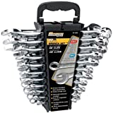 Performance Tool W1069 SAE/Metric Polished Combo Wrench Set,...