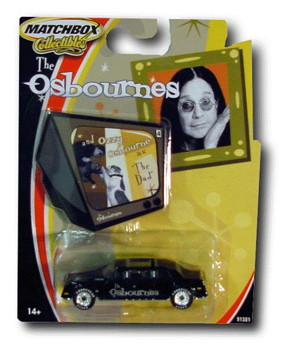 Ozzy Osbourne Car The Osbournes diecast - 1