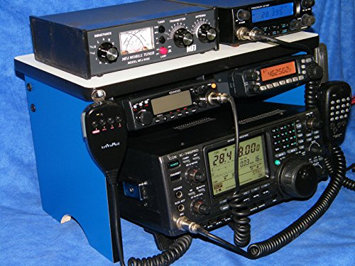 Ham Radio Bench Mount Rack Stack or Holder (Stack And Rack compare prices)