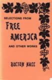 img - for Selections from Free America and Other Works book / textbook / text book