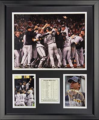 "Legends Never Die 2005 Chicago White Sox Framed Photo Collage, 16"" x 20"""