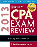 img - for Wiley CPA Exam Review 2013, Auditing and Attestation book / textbook / text book