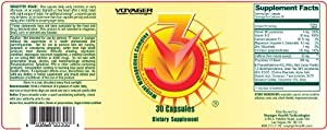 Voyager V3 Diet Supplement 30-capsule Pouches by Voyager
