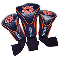 Click here to buy NCAA Auburn Tigers 3 Pack Contour Golf Club Headcover by Team Golf.