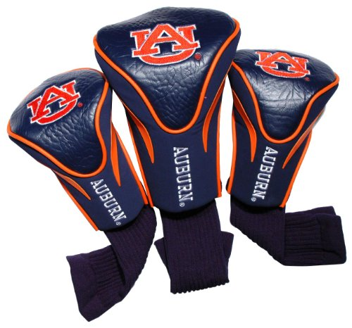 NCAA Auburn Tigers 3 Pack Contour Golf Club Headcover at Amazon.com
