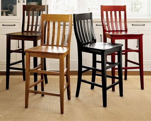 Pottery barn schoolhouse barstool - Pottery barn schoolhouse chairs ...