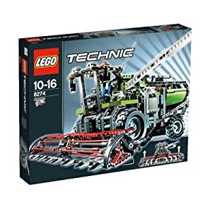 Lego technic jeu de construction la moissoneuse - Jeux de construction lego technic ...