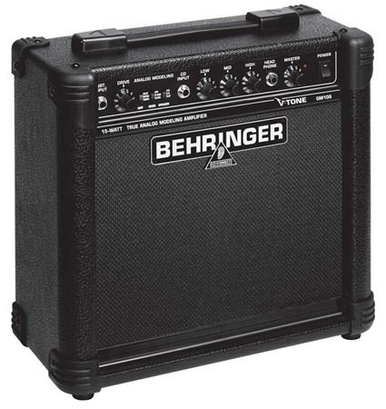 Behringer Gm108 True Analog Modeling 15-Watt Guitar Amplifier