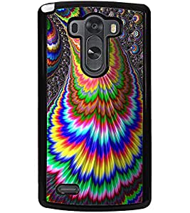 ColourCraft Abstract Image Design Back Case Cover for LG G3