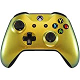 Xbox One Wireless Controller for Microsoft Xbox One - Custom Soft Touch Feel - Custom Xbox One Controller (Gold Chameleon) (Color: Gold Chameleon)