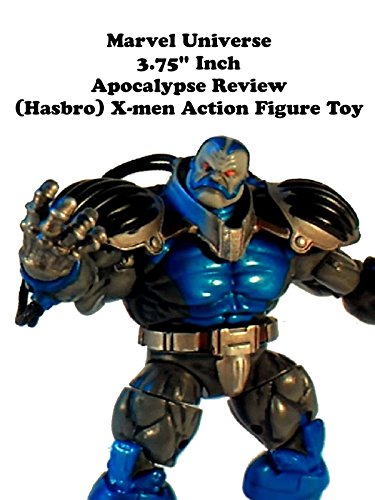 "Marvel Universe 3.75"" inch APOCALYPSE review (Hasbro) X-men action figure toy"