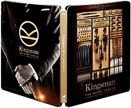 【Amazon.co.jp限定】 KINGSMAN / キングスマン ブルーレイ プレミアム・エディション (初回限定版)(日本オリジナルデザイン ダブルジャケット仕様スチールブック&マシュー・ヴォーン監督承認待特典付) [Steelbook] [Blu-ray]