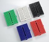 ミニブレッドボード 5色・各1枚 (5枚入)