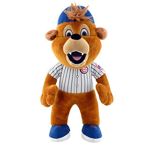 [MLB Chicago Cubs Clark Mascot Plush Figure, 10