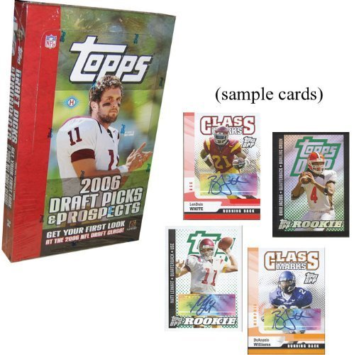 2006 Topps Draft Picks And Prospects Football HOBBY Box – 24P5C by Topps jetzt kaufen