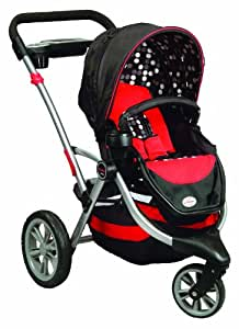 Contours Options 3 Wheel Stroller, Berkley (Older Version) (Discontinued by Manufacturer)