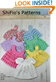 Crochet Pattern - CP20 - 1 baby dress and 6 pinaforesb -  USA terminology