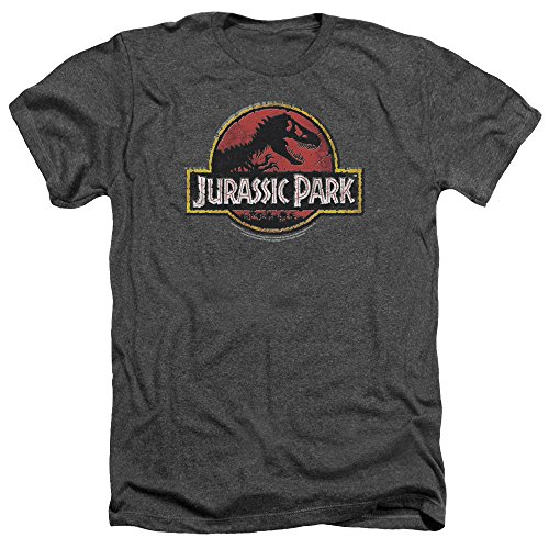 Jurassic Park - Canotte - Uomo grigio Large