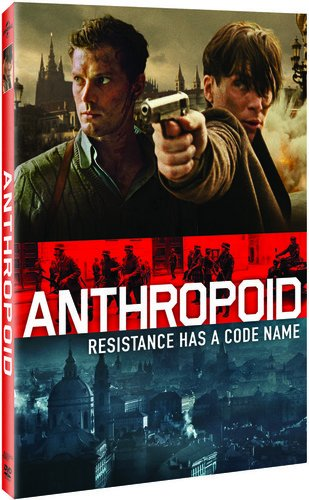 DVD : Anthropoid (Snap Case, Slipsleeve Packaging)