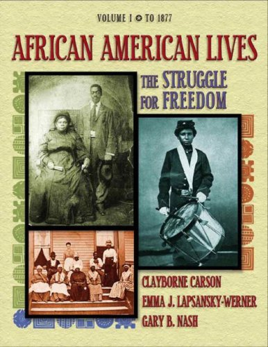 the struggle of african americans to The civil rights act of 1964: a long struggle for freedom the contributed by many notable african americans including writers jean toomer and zora.