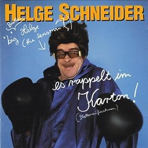 Helge Schneider -  Es rappelt im Karton!