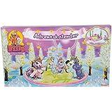 Simba 105957618 - Filly Ice Unicorn Einhorn Adventskalender bau dir eine Eislaufarena 2011, 50 x 31,5 x 5 cm
