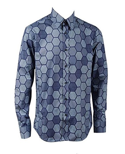 [Phyllis Olmos Dark Knight Joker Hexagon Shirt Outfit Halloween Cosplay Costume (US Male XXL)] (Joker Costumes Dark Knight Halloween)
