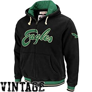 Mitchell & Ness Philadelphia Eagles Standing Room Hooded Sweatshirt by Mitchell & Ness
