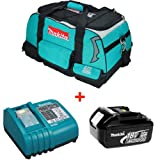 MAKITA 18V BL1830 Battery & DC18RA Charger with Tool Bag (831278-2)