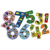 Vilac - 2465 - Jeux et Jouets en Bois - Puzzles chiffres en coffret (45 pièces)