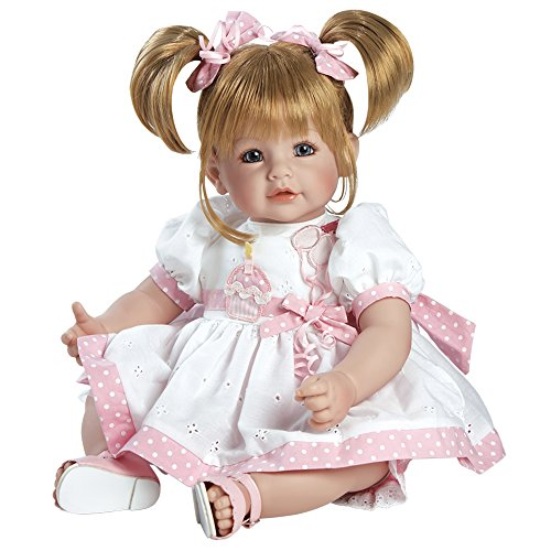Adora-Toddler-Happy-Birthday-Baby-20-Girl-Weighted-Doll-Gift-Set-for-Children-6-Huggable-Vinyl-Cuddly-Snuggle-Soft-BodyToy