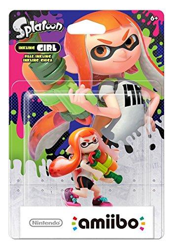 amiibo Splatoon Inkling-Mädchen Nintendo Wii U