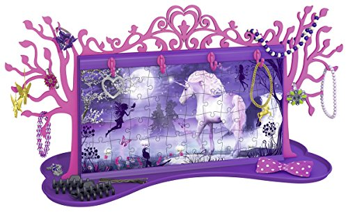 Ravensburger-12069-Puzzle-Girly-Girl-Arbre-Bijoux-Licorne-108-pices