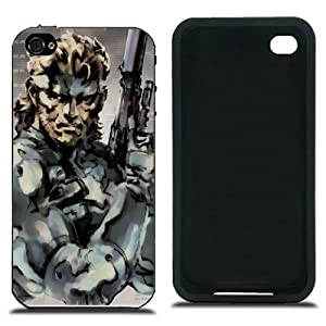 Metal Gear Solid Snake Cover Case for iphone 4 4S Series IMCA-CP-PYX5749