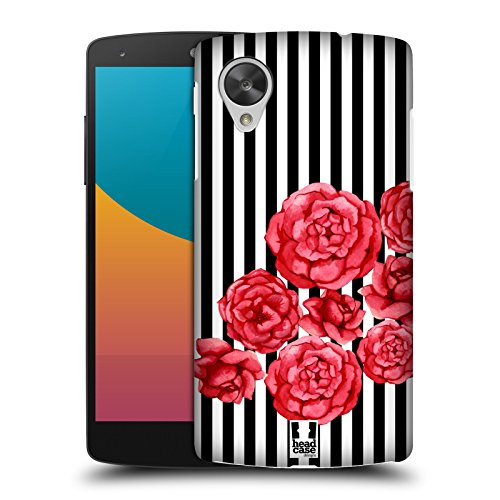 Head Case Designs Crimson Blooms Lacrimosa Protective Snap-on Hard Back Case Cover for LG Google Nexus 5 D820 D821