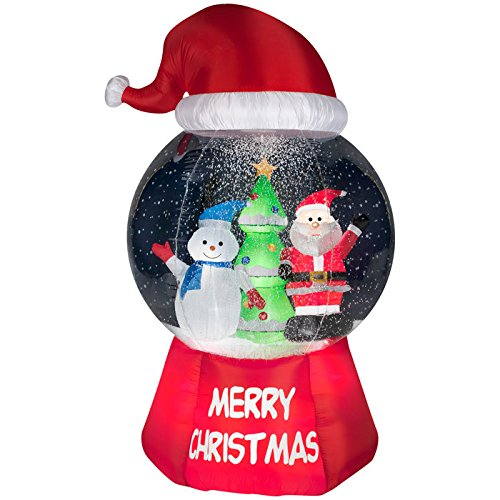 Gemmy Christmas 10 W Airblown Inflatable Winter Carolers: Christmas Outdoor Inflatables Page Two
