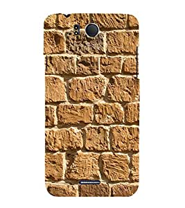 Beautiful Rock Wall 3D Hard Polycarbonate Designer Back Case Cover for InFocus M530