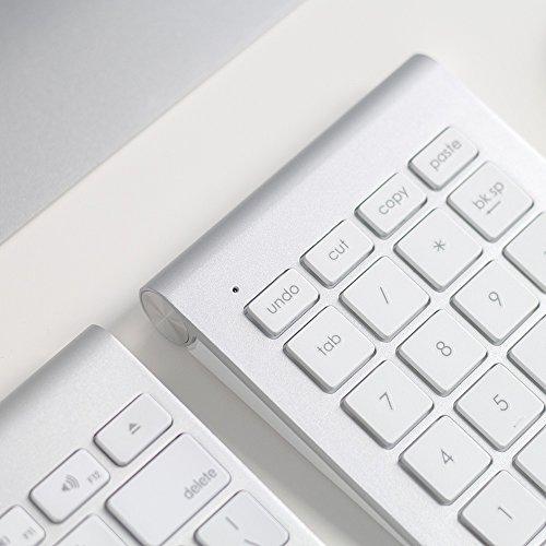 Satechi Aluminum Bluetooth Wireless Keypad Number Pad Keyboard