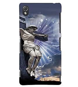 PRINTVISA Religious Jesus Christ Case Cover for Sony Xperia Z3 Mini