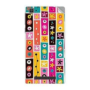 Garmor Designer Mobile Skin Sticker For Vivo X3 MINI - Mobile Sticker
