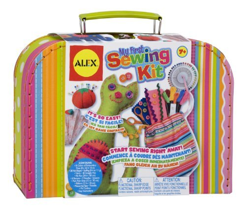 This Kit Won Dr Toy'S Best Classic Toys Award And Parents' Choice Approved Award - Alex Toys My First Sewing Kit