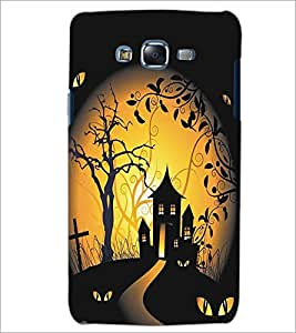 SAMSUNG GALAXY J5 GHOST HOUSE Designer Back Cover Case By PRINTSWAG