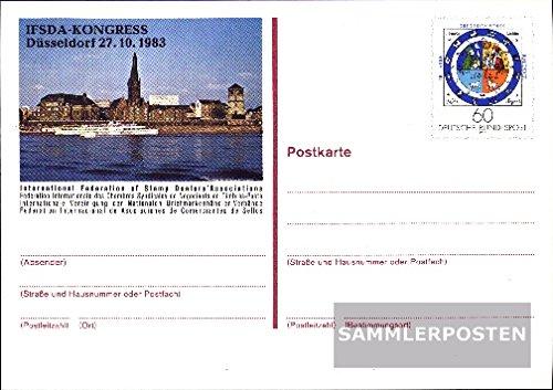 BRD (BR.Deutschland) PSo9 Sonderpostkarte gefälligkeitsgestempelt gebraucht 1983 Gregor. Kalender (Belege Ganzsachen für Sammler)