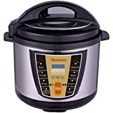 Deseo Electric Pressure Cooker 6 Ltr., Stainless Steel