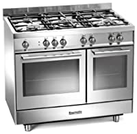 Baumatic BCG920SS Gas Range Cooker Free Standing Stainless Steel by Baumatic